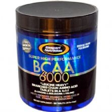 BCAA 6000 - 180 Tabletes - Gaspari Nutrition