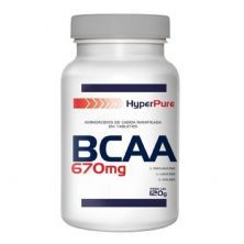 BCAA 670mg - 120 Cápsulas - HyperPure