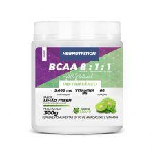 BCAA 8:1:1 All Natural - 300g Limão Fresh - NewNutrition