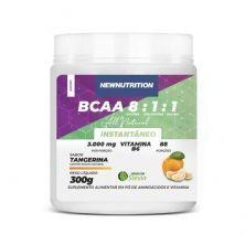 BCAA 8:1:1 All Natural - 300g Tangerina - NewNutrition
