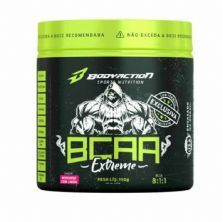 BCAA 8:1:1 Extreme - 150g Morango com Limão - Body Action*** Data Venc. 30/11/2020