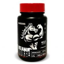 BCAA Aminoacid 4:1:1 - 120 Tabletes - Vitamin Horse*** Data Venc. 30/07/2020
