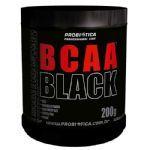 BCAA Black - 200g Sabor Ice Lenon - Probiótica