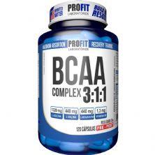 BCAA Complex 3:1:1 -120 Cápsulas - ProFit