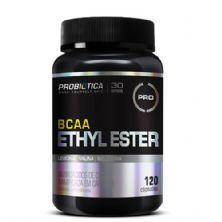 BCAA Ethyl Ester Pro - 120 cápsulas - Probiótica*** Data Venc. 30/03/2018