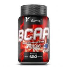 Bcaa + VitB6 500mg - 120 Cápsulas - Fitoway