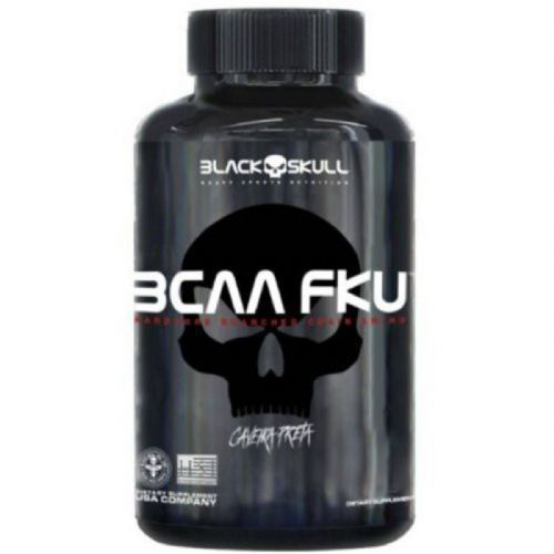 Bcaa FKU - 120 Tablets - Black skull no Atacado