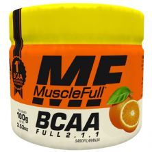 Bcaa Full 2.1.1 - 100g Laranja - MuscleFull