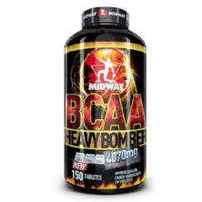 BCAA Heavy Bomber - 150 Tabletes 300g - Midway