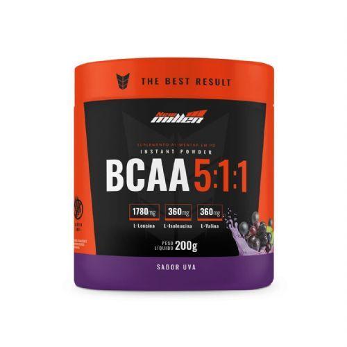 Bcaa Instant Powder 5:1:1 - 200g Uva - New Millen no Atacado