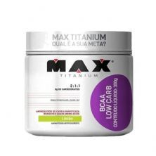 BCAA Low Carb - 300g Limão - Max Titanium*** Data Venc. 22/04/2020