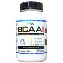 BCAA MEGA - 120 Cápsulas - Mlife