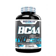 BCAA NO2 Vit & E - 120 Cápsulas - Body Nutry