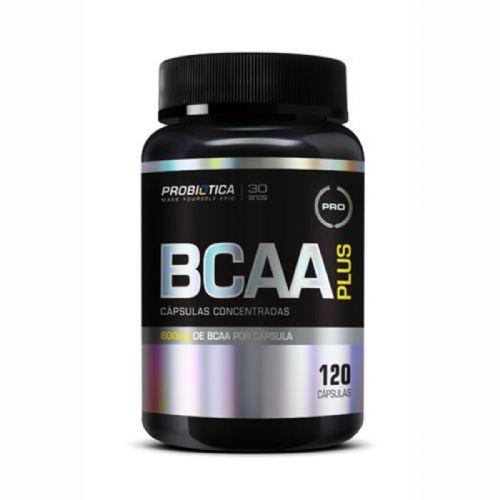 BCAA Plus - 120 Cápsulas - Probiótica no Atacado