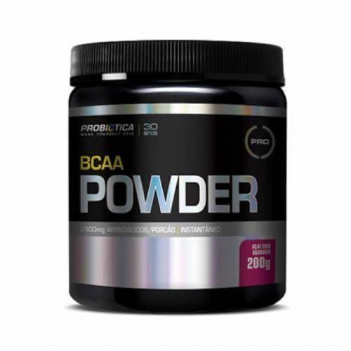 BCAA Powder - 200g Açaí c/Guaraná - Probiotica no Atacado