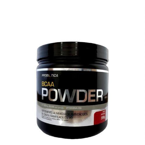 BCAA Powder Nova Fórmula - 200g Morango Probiotica no Atacado