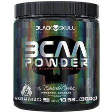BCAA Powder - 300g Powerful Guarana - Black Skull