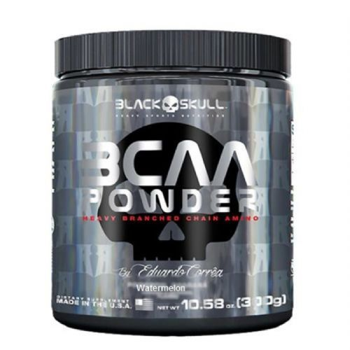 BCAA Powder - 300g Watermelon - Black Skull no Atacado