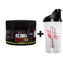 BCAA Powder - Muscle Builder - 100g Guarana com Açaí +  Coqueteleira - BodyAction