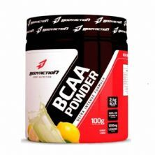BCAA Powder - Muscle Builder - 100g Limão - BodyAction*** Data Venc. 28/02/2021