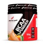 BCAA Powder - Muscle Builder - 100g Tangerina + Coqueteleira - BodyAction