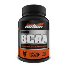 Bcaa Power - 120 Cápsulas - New Millen