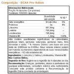 BCAA Pro-Action - 100 cápsulas - Bodygenics