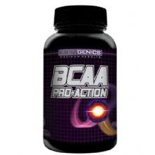 BCAA Pro-Action - 200 cápsulas - Bodygenics