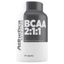 Bcaa 2:1:1 - 60 Cápsulas - Atlhetica Nutrition