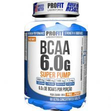 Bcaa Super Pump 6g  - 60 Tabletes - ProFit