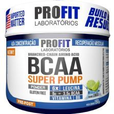 Bcaa Super Pump Powder 6:1:1 - 150g Limão - ProFit