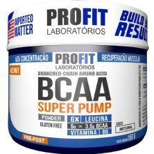 Bcaa Super Pump Powder 6:1:1 - 150g Natural - ProFit