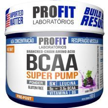 Bcaa Super Pump Powder 6:1:1 - 150g Uva - ProFit