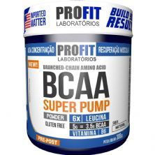 Bcaa Super Pump Powder 6:1:1 - 300g Natural - ProFit