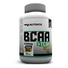 BCAA + TCM - 90 Cápsulas - Nutrata