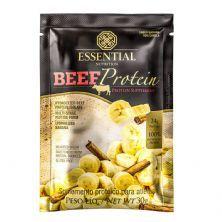 Beef Protein - 1 Sachê 30g Banana Com Canela - Essential Nutrition