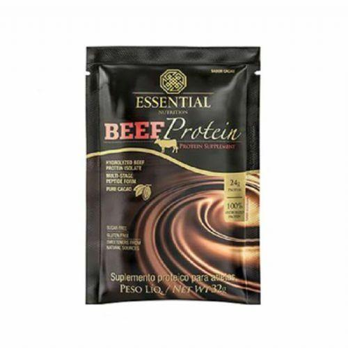 Beef Protein - 1 Sachê 32g Chocolate - Essential Nutrition no Atacado