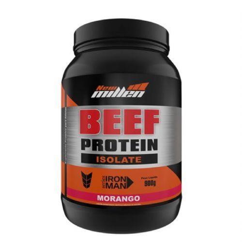 Beef Protein Isolate - 900g Morango - New Millen no Atacado