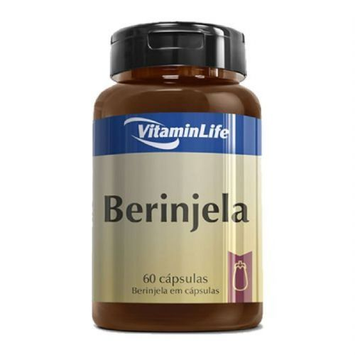 Berinjela em Cápsulas - 60 Cápsulas - VitaminLife no Atacado