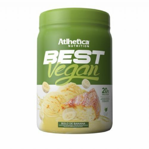 Best Vegan - 500g Bolo de Banana - Atlhetica Nutrition	 no Atacado