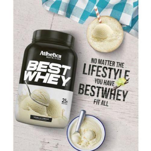 Best Whey - 1 sachê 35g Vanilla Cream - Atlhetica Nutrition no Atacado