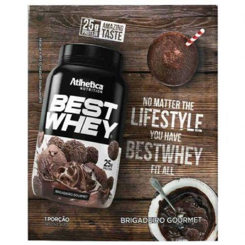Best Whey - 1 sachê 40g Brigadeiro Gourmet - Atlhetica Nutrition no Atacado