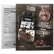 Best Whey - 1 sachê 40g Chocolate Brownie - Atlhetica Nutrition
