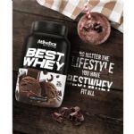 Best Whey - 1 sachê 40g Double Chocolate - Atlhetica Nutrition