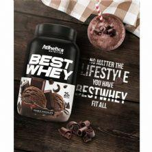 Best Whey - 1 sachê 40g Double Chocolate - Atlhetica Nutrition*** Data Venc. 07/03/2020