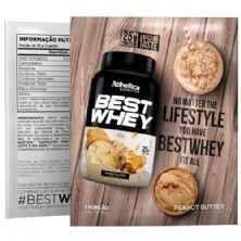 Best Whey - 1 sachê 40g Peanut Butter - Atlhetica Nutrition