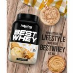 Best Whey - 1 sachê 40g Peanut Butter - Atlhetica Nutrition no Atacado