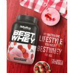 Best Whey - 1 sachê 35g Strawberry Milkshake - Atlhetica Nutrition