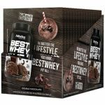 Best Whey - 15 sachês 40g Double de Chocolate - Atlhetica Nutrition