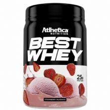 Best Whey - 450g Strawberry Milkshake - Atlhetica Nutrition